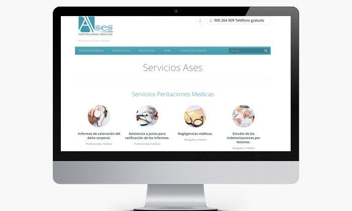 http://www.basicum.es/portfolio-item/diseno-web-empresa-ases-peritaciones-medicas/ Creaciones web y mantenimiento web por Basicum.es
