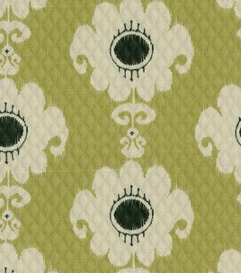 Home Decor Print Fabric Waverly Rise Shine Ebony Lime Home Decor Fabric