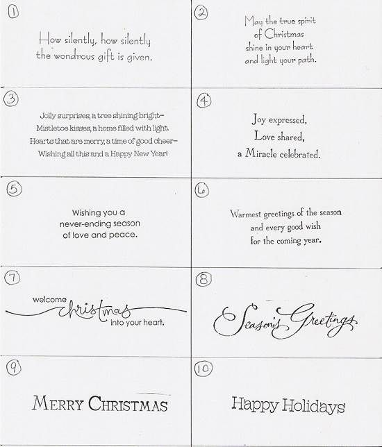 249 best cards christmas sayings images on pinterest christmas christmas card sayings m4hsunfo