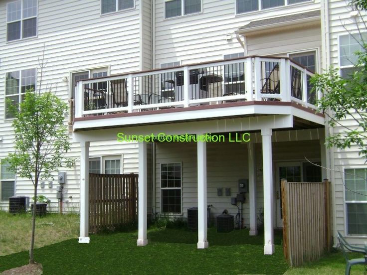 Trex accents saddle color deck by www.outdoorescapesdeck ...