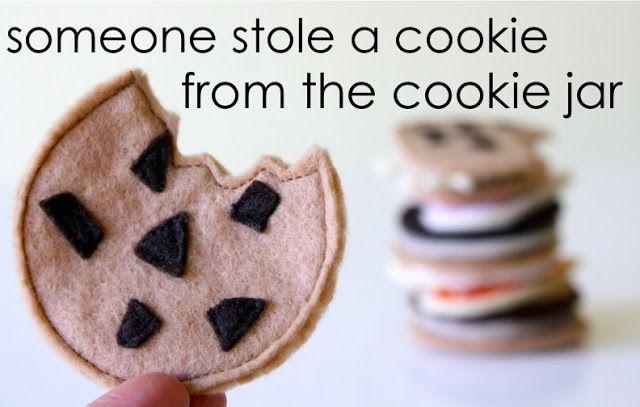 tutorial:  fabric cookies