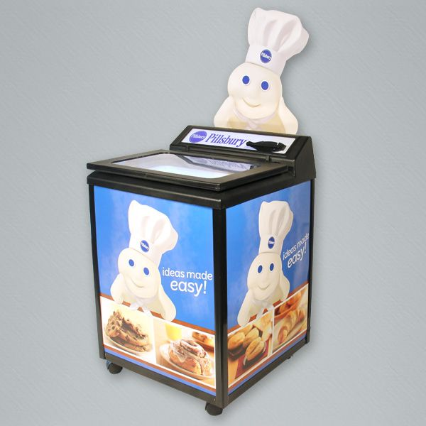 The GLC is a budget friendly thermoelectric cooler ideal for product launches and seasonal sales pushes.