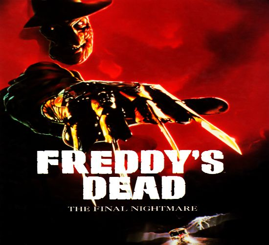 Freddy's Dead: The Final Nightmare; In part six of the Nightmare on Elm Street series, dream monster Freddy Krueger has finally killed all the children of his hometown, and seeks to escape its confines to hunt fresh prey. To this end, he recruits the aid of his (previously unmentioned) daughter. However, she discovers the demonic origin of her father's powers and meets Dad head-on in a final showdown (originally presented in 3-D).