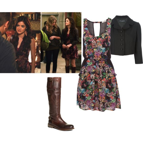 """Pretty Little Liars inspired - Aria Montgomery"