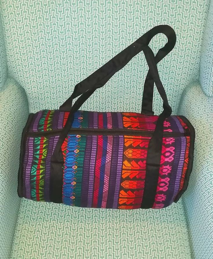 Large Guatemalan Duffel Bag $45 See Milly Rose's facebook page for price & availability. If you wish to purchase Private Message us via facebook.