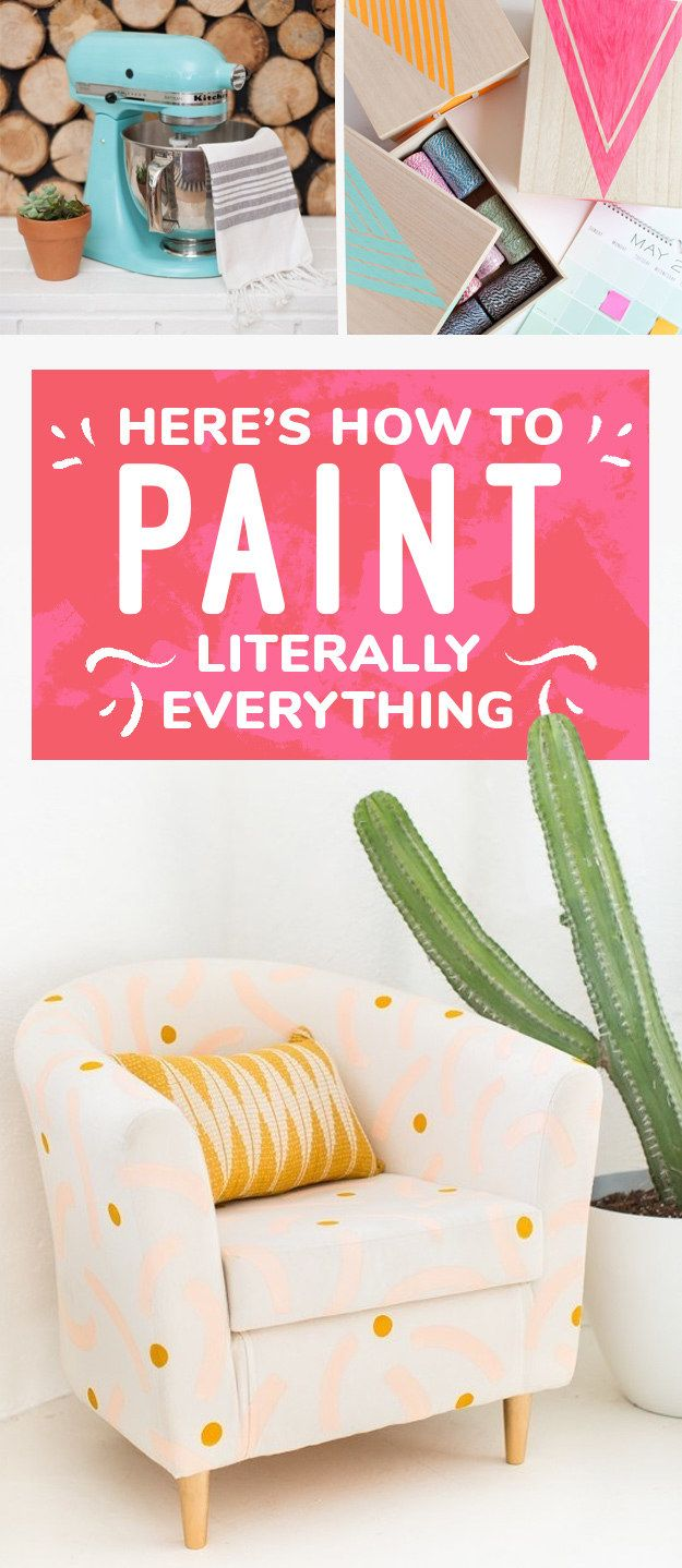 Here's How To Paint Literally Everything