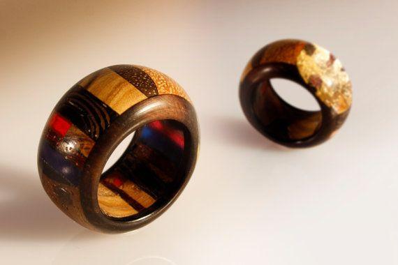 Anello elegante unisex gioiello artigianale di SPhandmadejewelry