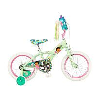 """Mongoose 16 inch Dora the Explorer Bike - Girls - Mint/Pink - Pacific Cycle - Toys """"R"""" Us"""