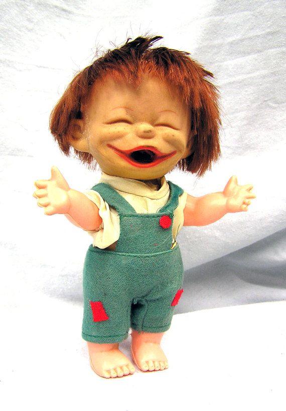 Vintage 1960 S I Am A Brat Ugly Rubber 7 Quot Boy Doll Hong