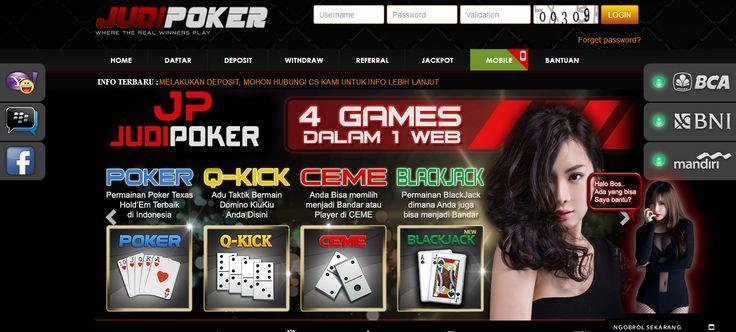 JUDIPOKER – Agen Poker Online, DominoQQ Terpercaya