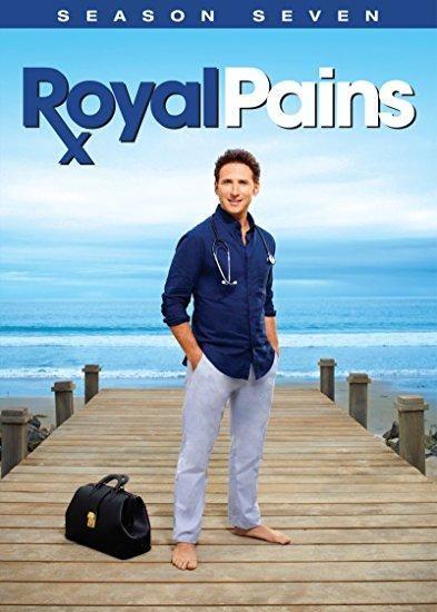 Mark Feuerstein & Paulo Costanzo - Royal Pains: Season 7