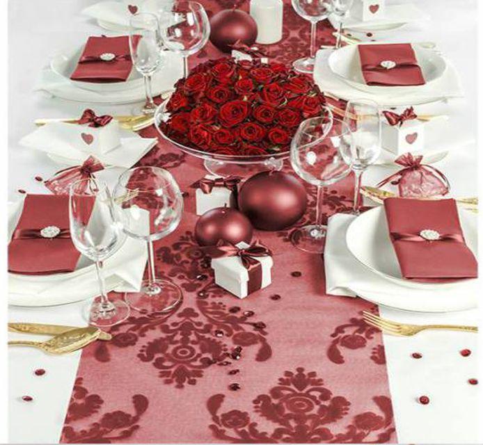 #Tischdeko mit #klassischem #Rot :) Wie gefällt euch diese #Idee?  http://dekoartikel.pressiode.de/de/1111-mit-aufdruck
