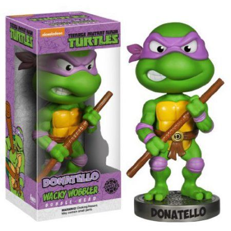 Funko Wacky Wobbler: Teenage Mutant Ninja Turtles - Donatello, Multicolor