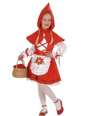 Meget sødt lille Rødhætte kostume - BlikfangsKostumer.dk