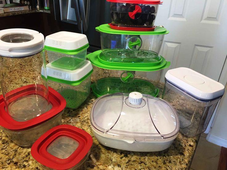 № 2. КУХОННЫЕ ПОМОЩНИКИ,   Посуда для хранения продуктов . Обзор моей по...