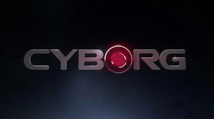 'Cyborg': 'Official DC movie logo'