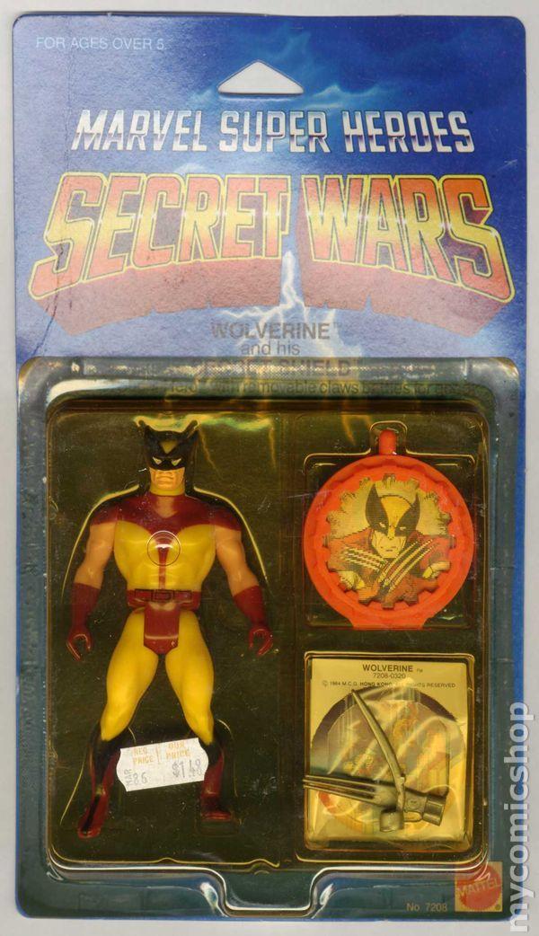 Marvel Super Heroes Secret Wars Action Figure (1984) ITEM#7208A
