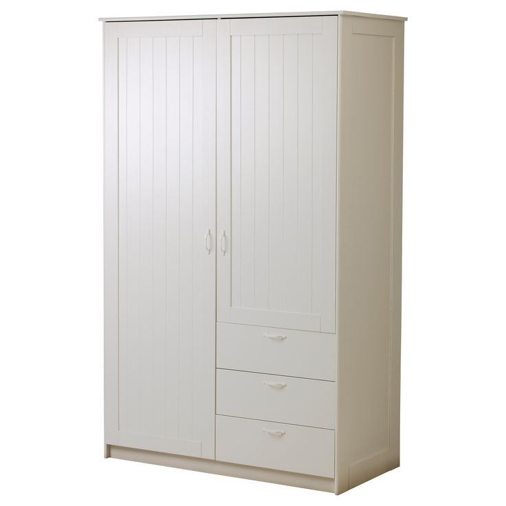 Ikea Malm Bett Mit Anderem Lattenrost ~ MUSKEN Wardrobe with 2 doors+3 drawers  IKEA $295 Musken, Bedrooms