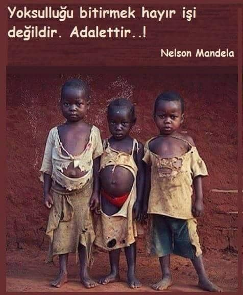 Overcoming poverty is not a task of charity, it is an act of justice~Nelson Mandela