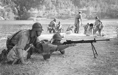 Spain - 1938. - GC - batalla del Ebro