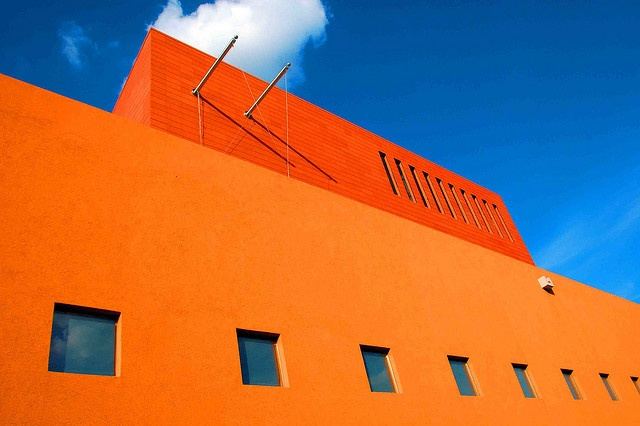 Latino Cultural Center - Dallas: Building, Colors Contrast, Art Photography, Colors Latino, Nice Colors, Cultural Center, Hello Photo, Photography Inspiration, Colors Inspiration
