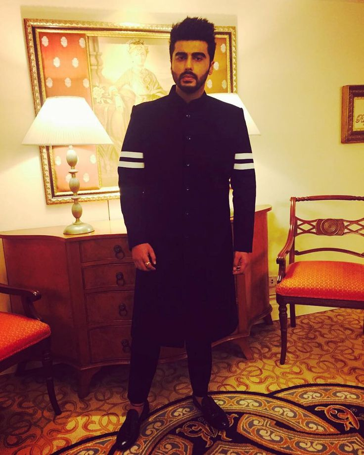 Arjun Kapoor wearing an outfit from Falguni and Shane Peacock  #bollywoodcelebs #bollywoodclothes #indianfashion #inspiration