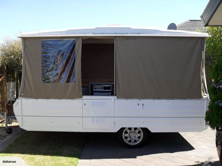 1980 - SUNBIRD 12FT POPTOP (Factory Long version)    Trade Me, $5800 asking price, Jan 2015  This camper is a pleasure to tow and easy to erect, fibreglass roof is in excellent condition with no cracks, and no leaks  and with no stripe canvas in sight, it doesn't look like a carnival tent.  Both the camper and the awning have been well looked after and been stored in a garage
