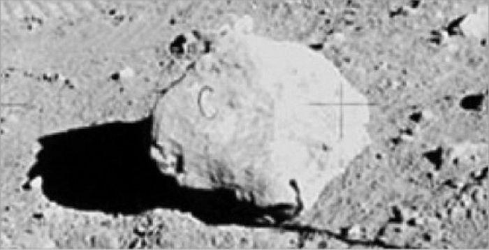 7 The C Rock Fake Moon Landing Fake Moon Landing Moon