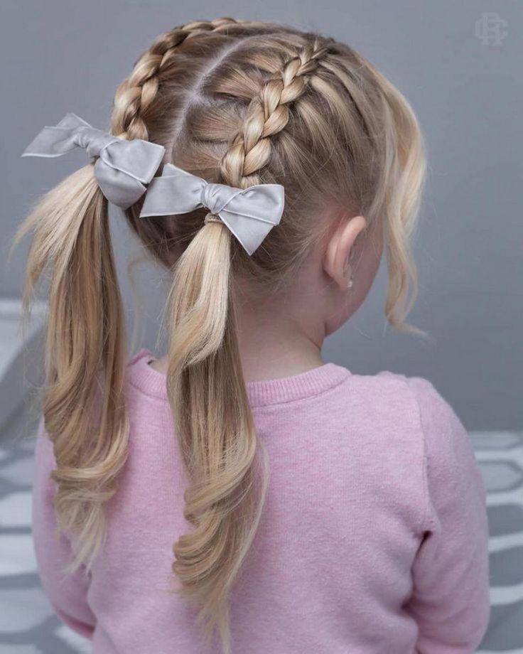 52 Simple Braided Hair for Kids #braidedhair #braidedhairforkids #braidedhairide…