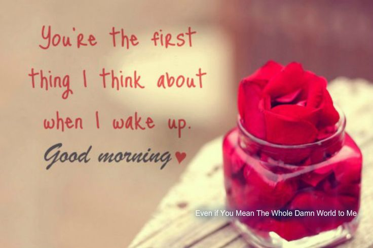 30 Good Morning Love Quotes For Him: 358 Best Good Morning Quotes Images On Pinterest