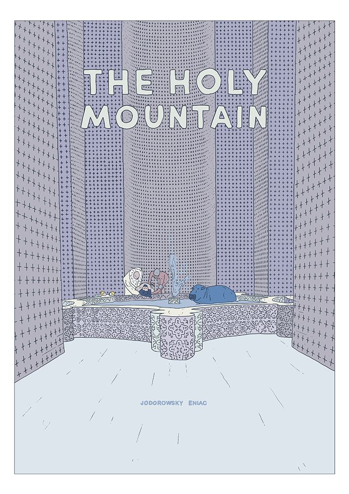 fan movie poster - The Holy Mountain