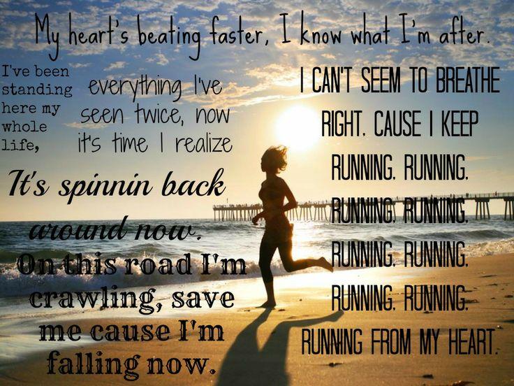 Running by Adam Lambert