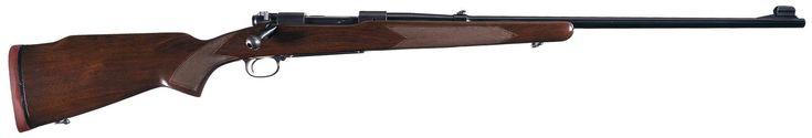 Pre-64 Winchester Model 70 Alaskan Bolt Action Rifle in .338 Win Magnum