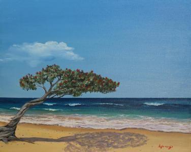 Beautiful Day Oil Painting  Lara Fleming Artist