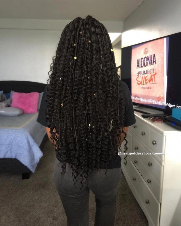 🧜🏾♀️Mermaid Goddess locs 🧜🏾♀️• Waist Length • done…   – Braid Recipes