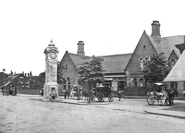 Didsbury Station, 1895