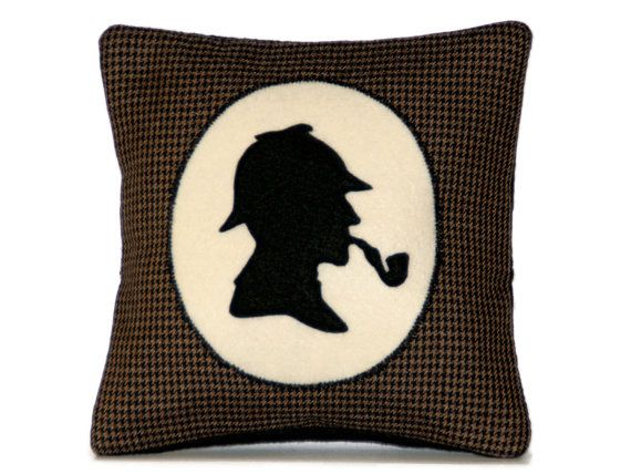 Ooh, me wants!     Sherlock Holmes Victorian Style Shadow by DancingArethusa on Etsy, $41.00