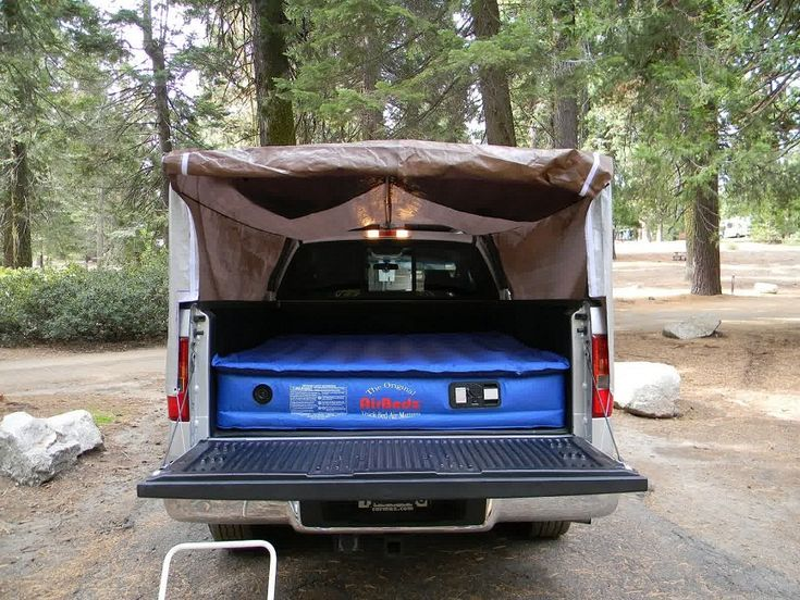 homemade truck bed tent