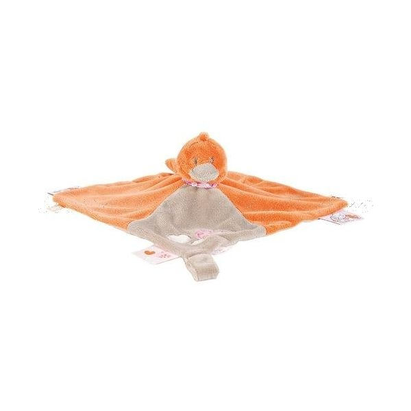 #Doudou #Babette - Noukies: un doudou Noukies en forme de petit canard, un doudou #Noukies que les petits vont adopter sans hésiter.  http://www.avenuedesanges.com/fr/noukies-iris-et-babette/3733-doudou-babette-5413042469394.html