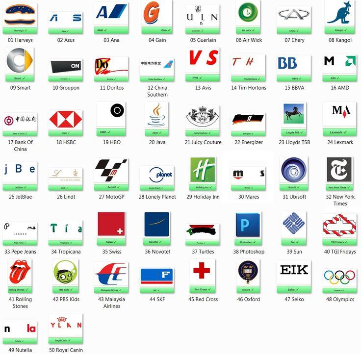 Pack 9 logo game Logo quiz, Logo quiz answers, Game logo