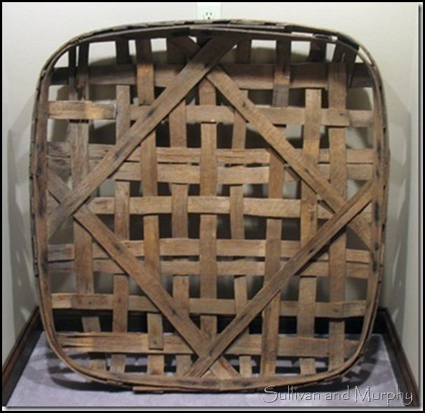 Large Tobacco Basket - I still want a tobacco basket hung in my CA home... dropping hints to my family back in MD!