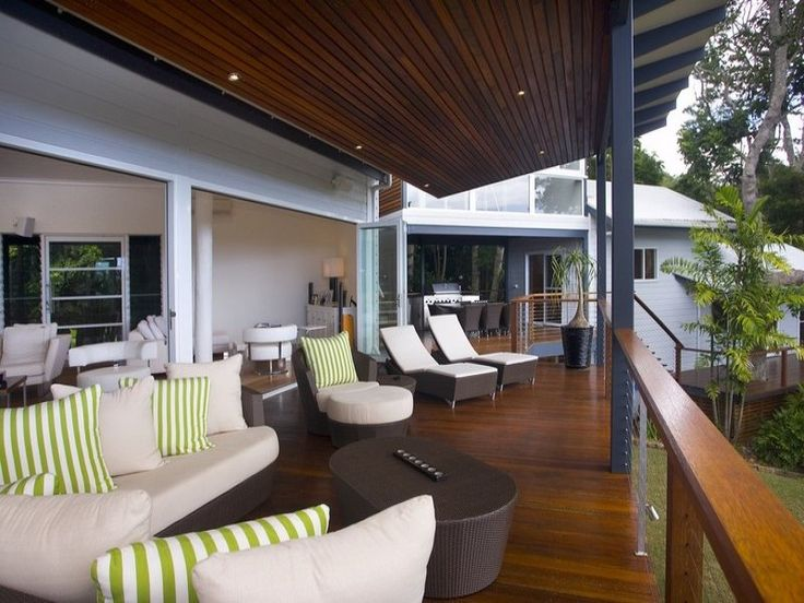 Outdoor Balcony Design Ideas | Outdoor Living Design With Balcony From A  Real Australian Home .