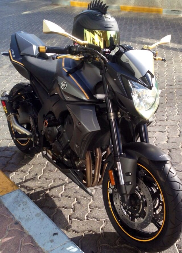Yamaha FZ8 Street Fighter Special Addition  Has been added to our fleet