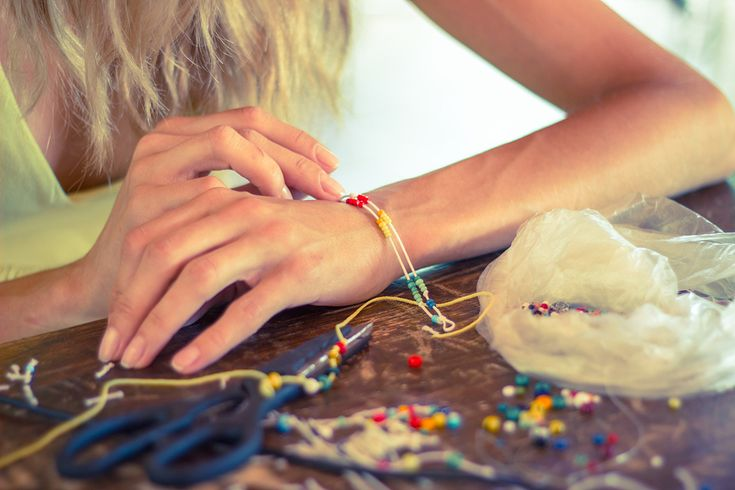 Make your own jewellery and surprise your friends , all while saving the planet.