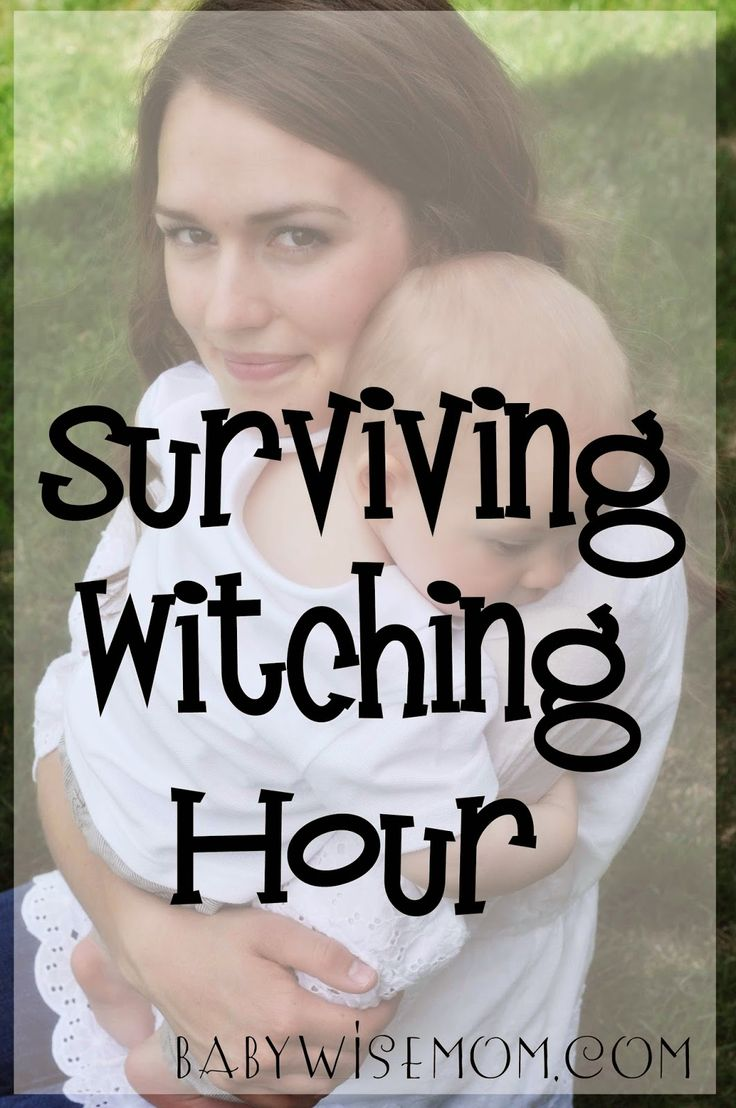 Witching Hour is that time each day when your baby just cries and doesn't quite seem like him/her self. You can't figure out what is wrong or how to help your baby. These are tips for Surviving Witching Hour