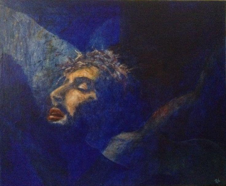 #Oh...Jesus#50x60#alkyd#acrylic#canvas#rithva.dk