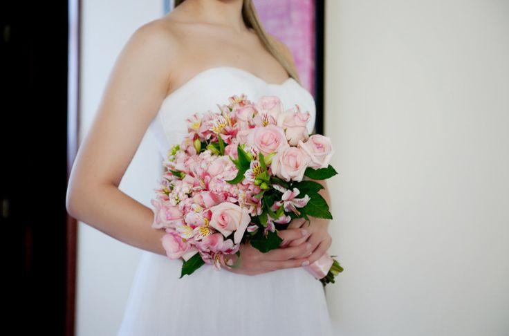 Bouquet rosa claro #inspiração #weddingbouquet