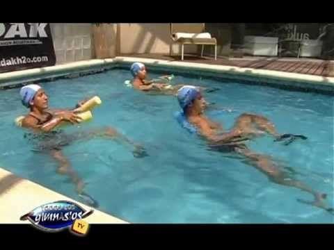 4 Ejercicios de abdominales en el agua - Prof. Fernando Villaverde