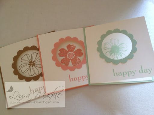 Stampin Up! Ideas & Supplies: flower shop swaps