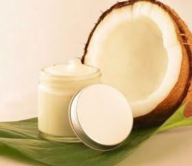 Crema humectante de coco casera